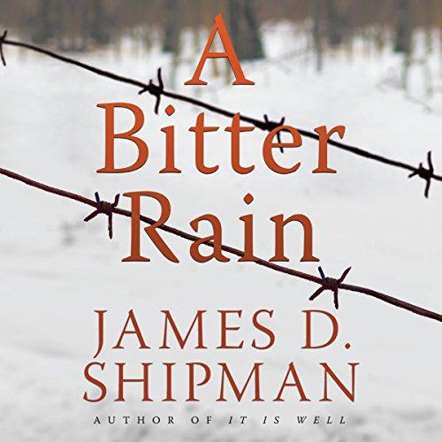 A Bitter Rain audiobook cover art