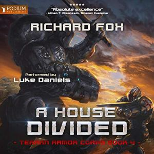 A House Divided audiobook cover art
