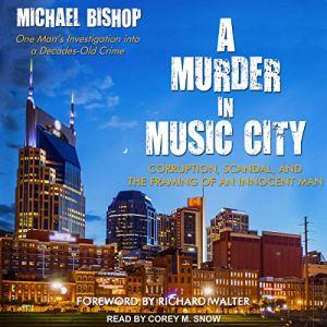 A Murder in Music City audiobook cover art