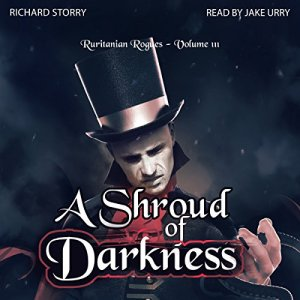 A Shroud of Darkness audiobook cover art