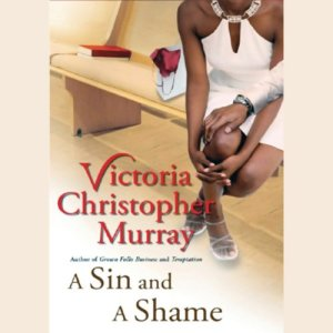 A Sin and a Shame audiobook cover art