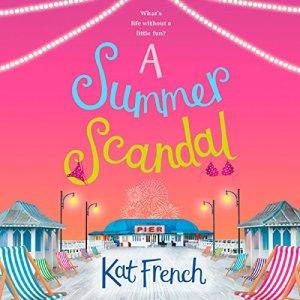 A Summer Scandal audiobook cover art