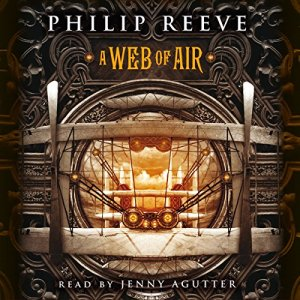 A Web of Air audiobook cover art