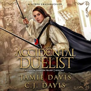 Accidental Duelist audiobook cover art