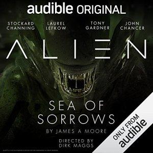 Alien: Sea of Sorrows audiobook cover art