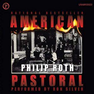 American Pastoral audiobook cover art