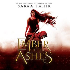 An Ember in the Ashes audiobook cover art