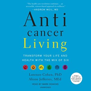 Anticancer Living audiobook cover art