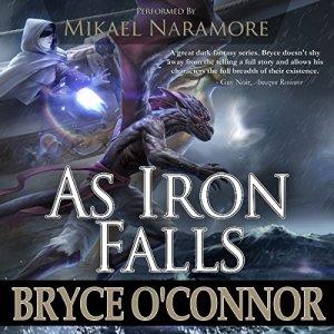 As Iron Falls audiobook cover art