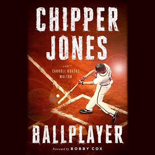Ballplayer audiobook cover art