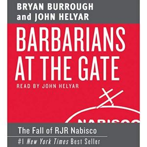 Barbarians at the Gate audiobook cover art
