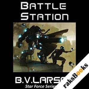 Battle Station audiobook cover art