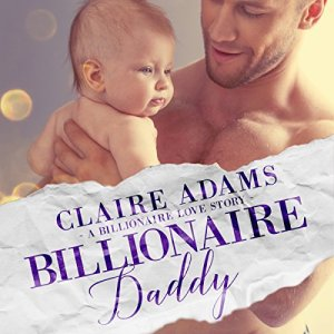 Billionaire Daddy audiobook cover art