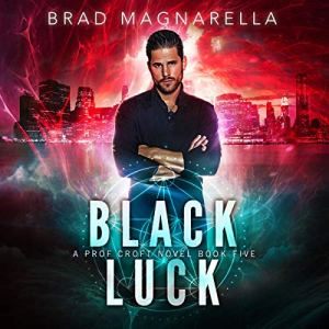 Black Luck audiobook cover art