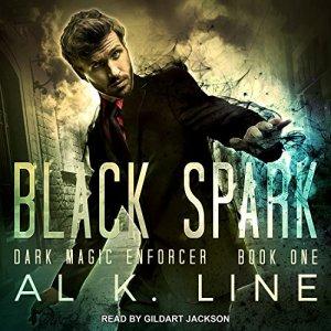 Black Spark audiobook cover art