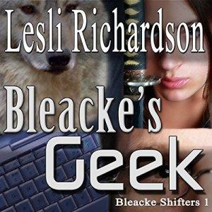 Bleacke's Geek (Bleacke Shifters) audiobook cover art