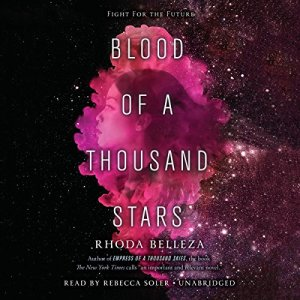 Blood of a Thousand Stars audiobook cover art