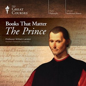 Books that Matter: The Prince audiobook cover art