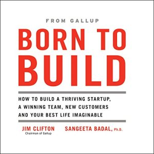 Born to Build audiobook cover art