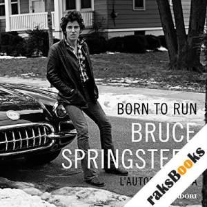 Born to run audiobook cover art