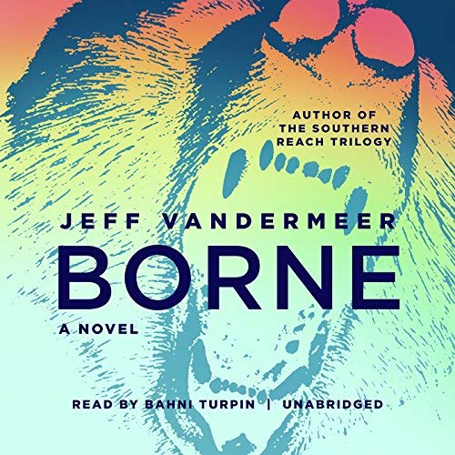 Borne audiobook cover art