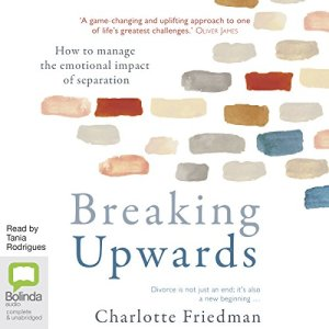 Breaking Upwards audiobook cover art