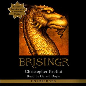 Brisingr audiobook cover art