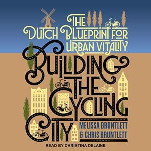 Building the Cycling City audiobook cover art