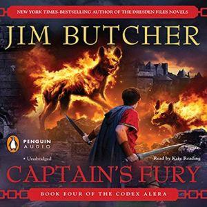 Captain's Fury audiobook cover art