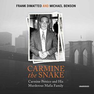 Carmine the Snake audiobook cover art