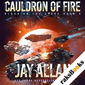 Cauldron of Fire audiobook cover art