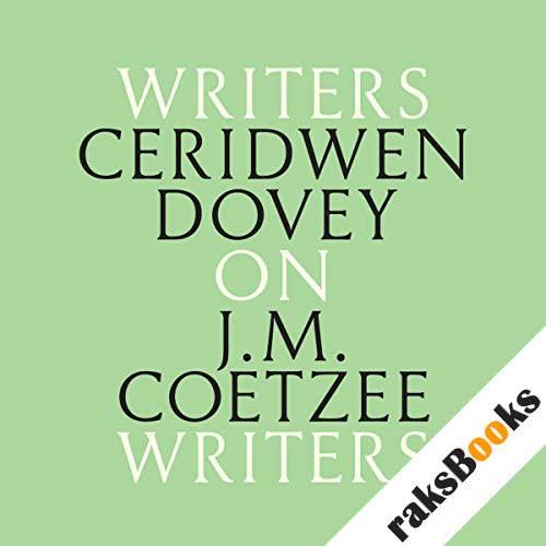 Ceridwen Dovey on J. M. Coetzee audiobook cover art