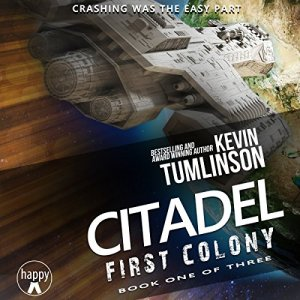 Citadel: First Colony audiobook cover art