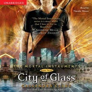City of Glass audiobook cover art