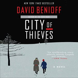 City of Thieves audiobook cover art