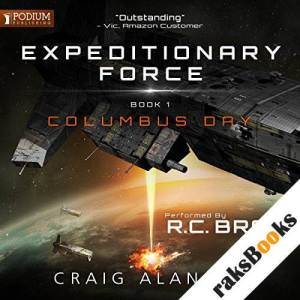 Columbus Day audiobook cover art