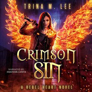 Crimson Sin audiobook cover art