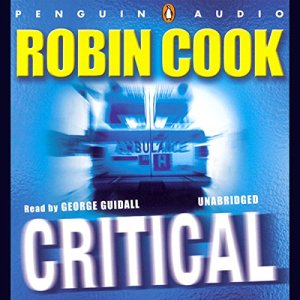 Critical audiobook cover art