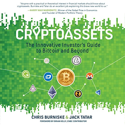 Cryptoassets audiobook cover art