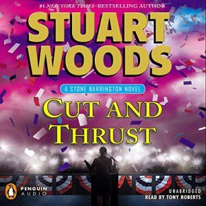 Cut and Thrust audiobook cover art