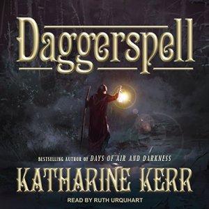 Daggerspell audiobook cover art