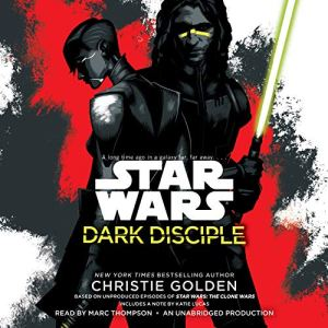 Dark Disciple: Star Wars audiobook cover art