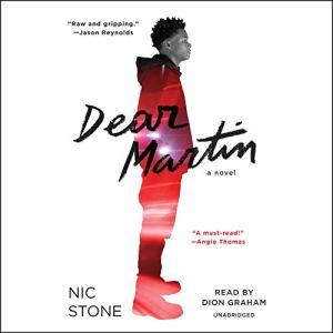 Dear Martin audiobook cover art