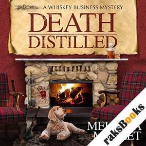Death Distilled audiobook cover art