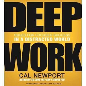 Deep Work audiobook cover art