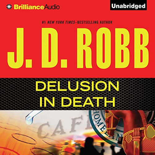 Delusion In Death audiobook cover art