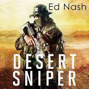 Desert Sniper audiobook cover art