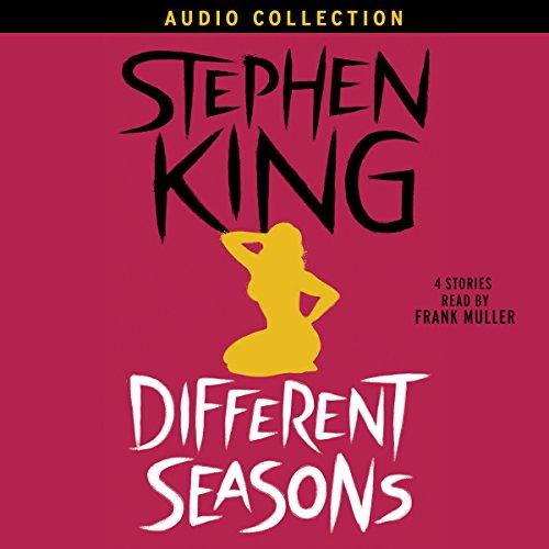 Different Seasons audiobook cover art