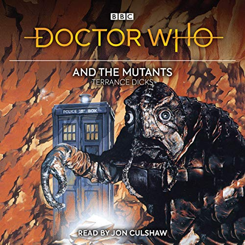Doctor Who and the Mutants audiobook cover art