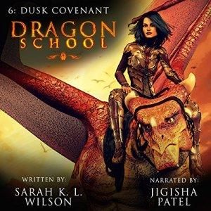 Dragon School: Dusk Covenant audiobook cover art